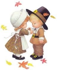 thanksgiving children clip art